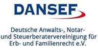 Logo Deutsche Anwalts-, Notar- und Steuerberatervereinigung für Erb- und Familienrecht e.V.